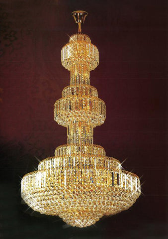 H905-LYS-8805 By The Gallery-LYS Collection Crystal Pendent Lamps