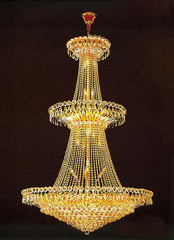 H905-LYS-8817 By The Gallery-LYS Collection Crystal Pendent Lamps