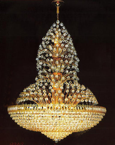 H905-LYS-8835 By The Gallery-LYS Collection Crystal Pendent Lamps