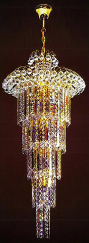 H905-LYS-8844 By The Gallery-LYS Collection Crystal Pendent Lamps