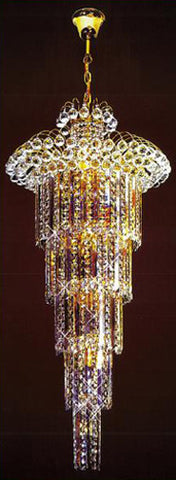 H905-LYS-8846 By The Gallery-LYS Collection Crystal Pendent Lamps