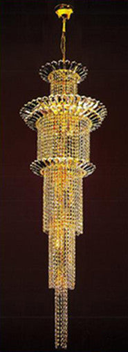 H905-LYS-8849 By The Gallery-LYS Collection Crystal Pendent Lamps
