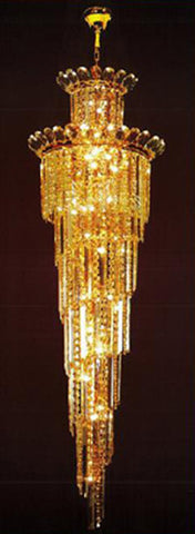 H905-LYS-8850 By The Gallery-LYS Collection Crystal Pendent Lamps