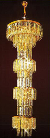 H905-LYS-8860 By The Gallery-LYS Collection Crystal Pendent Lamps