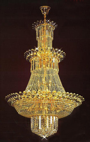 H905-LYS-8877 By The Gallery-LYS Collection Crystal Pendent Lamps