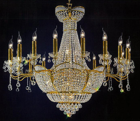 H906-WL61178-18KG By Empire Crystal-Chandelier
