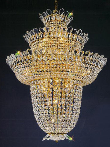H906-WL61187-800KG By Empire Crystal-Chandelier
