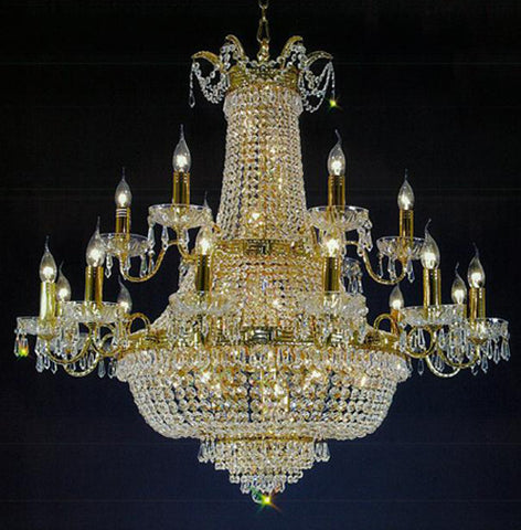 H906-WL61194-12+6KG By Empire Crystal-Chandelier