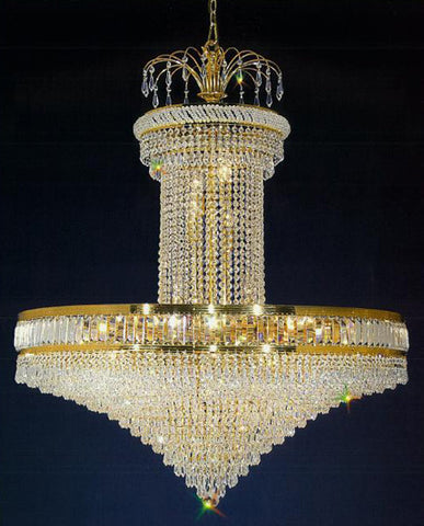 H906-WL61309-400KG By Empire Crystal-Chandelier