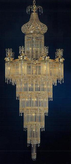 H906-WL61390-750KG By Empire Crystal-Chandelier