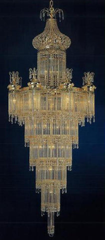 H906-WL61390-900KG By Empire Crystal-Chandelier