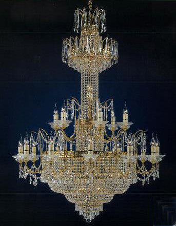 H906-WL61405-1120KG By Empire Crystal-Chandelier