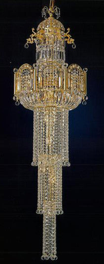 H906-WL61436-580KG By Empire Crystal-Chandelier