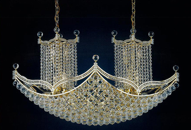 H906-WL61459-1240KG By Empire Crystal-Chandelier