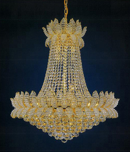 H906-WL61461-570KG By Empire Crystal-Chandelier
