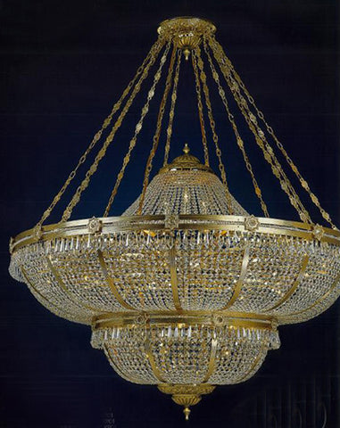H906-WL61503-1530CKP01 By Empire Crystal-Chandelier