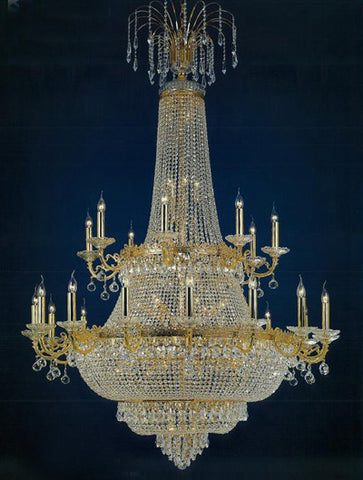 H906-WL61507-1500KG By Empire Crystal-Chandelier