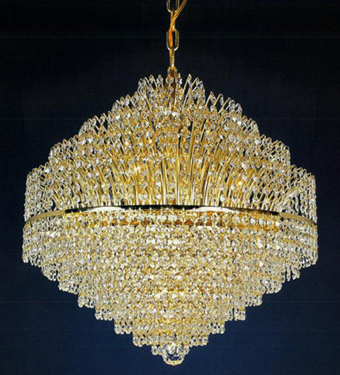 H906-WL61514-680KG By Empire Crystal-Chandelier