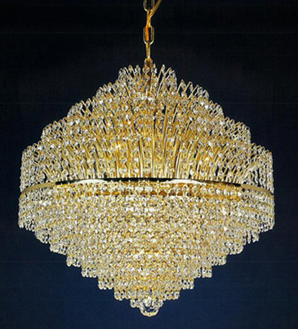 H906-WL61514-740KG By Empire Crystal-Chandelier