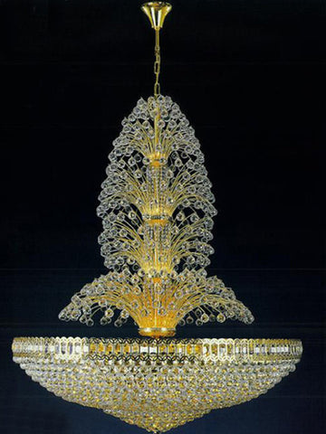 H906-WL61520-980KG By Empire Crystal-Chandelier