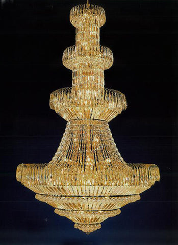 H906-WL61522-1800KG By Empire Crystal-Chandelier