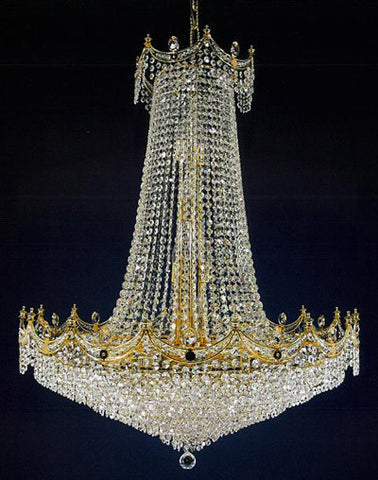 H906-WL61523-820KG By Empire Crystal-Chandelier