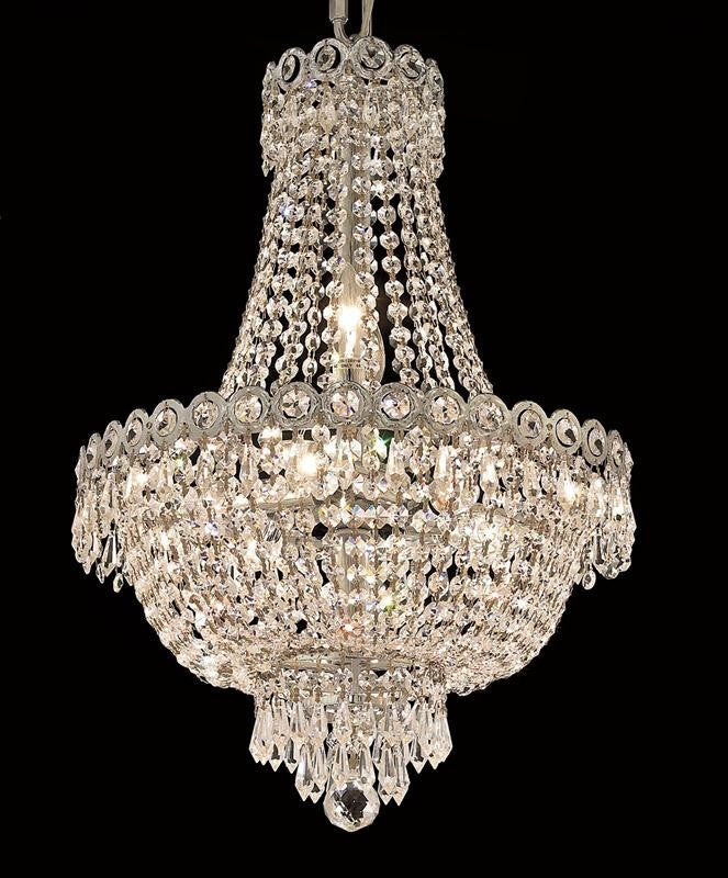 ZC121-V1900D16C By REGENCY - Century Collection Polished Chrome Finish Chandelier