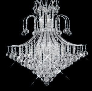 ZC121-V8003D25C By REGENCY - Toureg Collection Polished Chrome Finish Chandelier