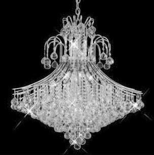 ZC121-V8005G31C By REGENCY - Toureg Collection Polished Chrome Finish Chandelier