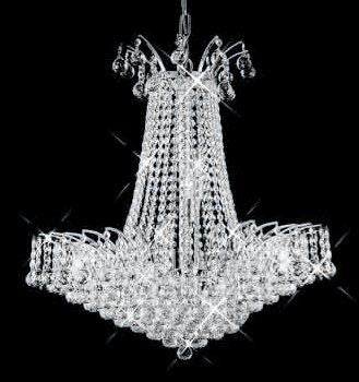 ZC121-V8031D24C By REGENCY - Victoria Collection Polished Chrome Finish Chandelier