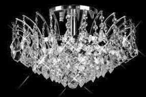 C121-SILVER/8033F/1610 REGENCY LIGHTING Empire Style