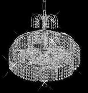 C121-SILVER/8052/1416 Spiral CollectionEmpire Style CHANDELIER Chandeliers, Crystal Chandelier, Crystal Chandeliers, Lighting