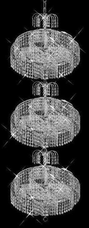 C121-SILVER/8052/1453 Spiral CollectionEmpire Style CHANDELIER Chandeliers, Crystal Chandelier, Crystal Chandeliers, Lighting