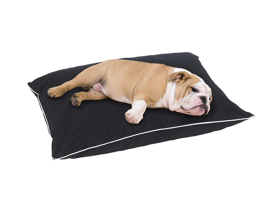 Dog Bed Cat Bed Pet Bed Dog Pillow Extra Soft - J10-104-37X28BK
