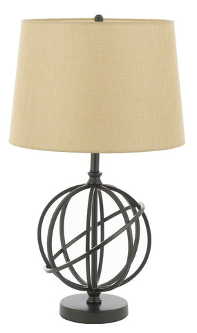 Metal Orbit Globe Accent Table Lamp - T204-SP-100