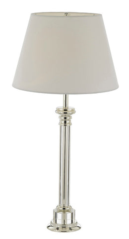 Crystal Column Table Lamp With Shade - T204-SP-102
