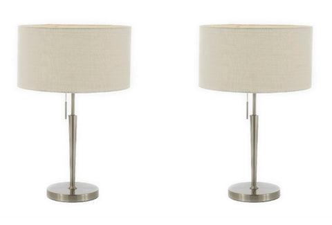 Set of 2 - Hayworth Table Lamp Bedside Lamp Desk Lamp - T204-SP-103-SET OF 2
