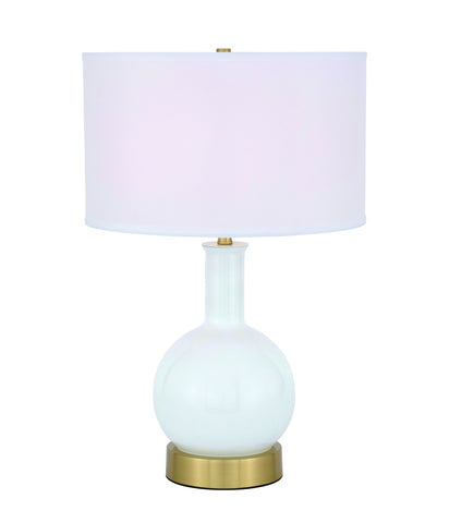 ZC121-TL3041BR - Regency Decor: Cory 1 light Brass Table Lamp