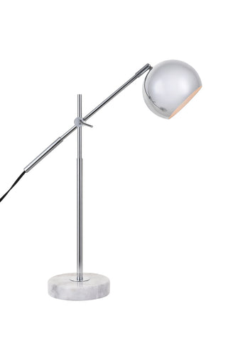ZC121-LD4069T20C - Living District: Aperture 1 light chrome Table lamp