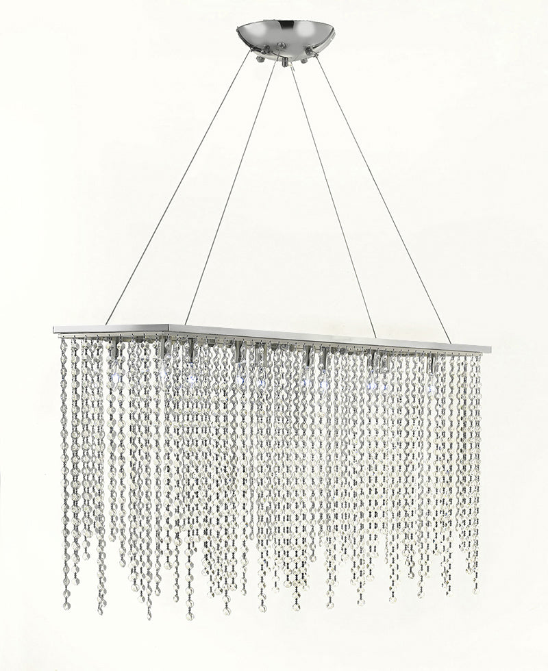 Ten Light Modern / Contemporary Dining Room Chandelier Lighting - G902-B47/1120/10