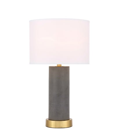 ZC121-TL3045BR - Regency Decor: Chronicle 1 light Brass Table Lamp