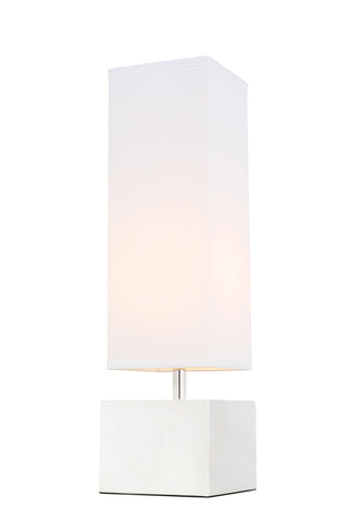 ZC121-TL3049PN - Regency Decor: Niki 1 light Polished Nickel Table Lamp