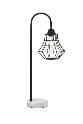 ZC121-LD4008T11BK - Living District: Candor 1 light Black Table lamp
