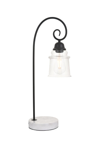 ZC121-LD4007T9BK - Living District: Spire 1 light Black Table lamp