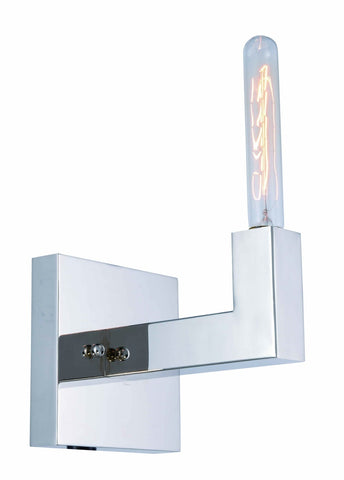 ZC121-1525W6PN - Urban Classic: Corsica 1 light Polished Nickel Wall Sconce