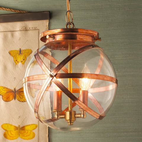 Steam Punk Indoor And Outdoor Hanging Lantern - F100-353