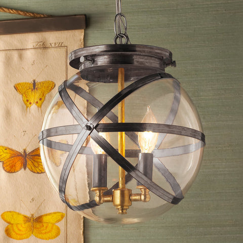 Steam Punk Indoor And Outdoor Hanging Lantern - F100-352