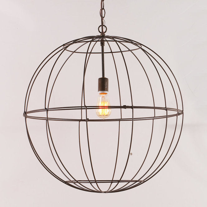 Young House Love Large Wire Globe Lantern - F100-343