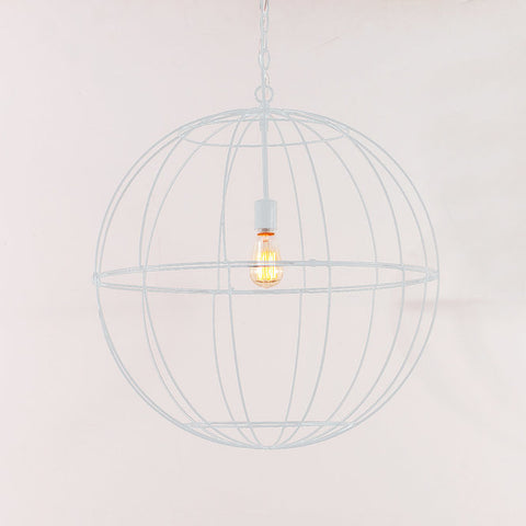 Young House Love Large Wire Globe Lantern - F100-345