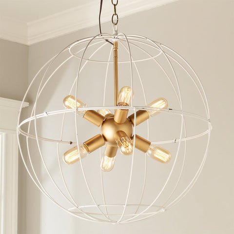 Young House Love Large Wire Globe Sputnik Chandelier - F100-319